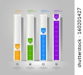 conceptual design of paper... | Shutterstock .eps vector #160201427