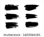 art brush paint stroke... | Shutterstock .eps vector #1602066181