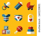 abc,baby,badge,bib,bottle,carriage,child,childhood,clothes,collection,cubes,design,diaper,dummy,element