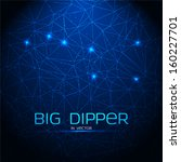big dipper triangular trendy... | Shutterstock .eps vector #160227701