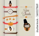 a set of retro style 'thank you'... | Shutterstock .eps vector #160227869