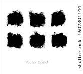 vector abstract watercolor... | Shutterstock .eps vector #1602301144