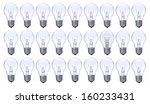 light bulbs of group object....   Shutterstock . vector #160233431