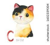Watercolor Animals Alphabet...