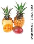 exotic diet food   set of lot... | Shutterstock . vector #160234355