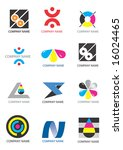several logos for use on a...