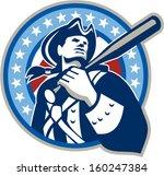 illustration of a american... | Shutterstock .eps vector #160247384