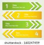 set of vector infographic... | Shutterstock .eps vector #160247459