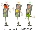 traffic light. follow the rules ... | Shutterstock .eps vector #160250585
