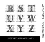 Architectural Sketched Letters...