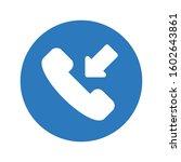 call vector glyph color icon