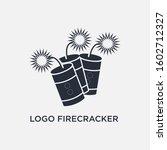 firecracker icon logo concept....