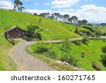 walkway at hobbiton vilage ... | Shutterstock . vector #160271765