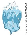 design of an abstract cartoon...   Shutterstock . vector #1602724567