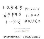 vector fonts   handwritten...   Shutterstock .eps vector #1602773017