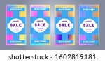 collection of sale and discount ... | Shutterstock .eps vector #1602819181