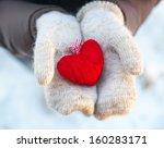 Read Heart  In White Warm Wool...