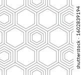 geometric seamless vector...   Shutterstock .eps vector #1602839194