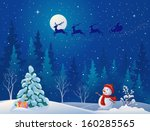 art,background,card,cartoon,celebration,character,christmas,christmastide,claus,cute,deer,drawing,eve,fairytale,flying