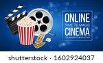 cinematograph concept banner...   Shutterstock .eps vector #1602924037