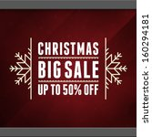 christmas sale background....