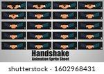 business people shaking hands...   Shutterstock .eps vector #1602968431