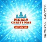 christmas light vector...   Shutterstock .eps vector #160299191