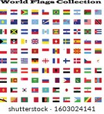 world flags collection in one... | Shutterstock .eps vector #1603024141