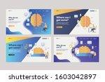 set of business analysts... | Shutterstock .eps vector #1603042897