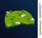 macedonia vector low poly 3d... | Shutterstock .eps vector #1603053877