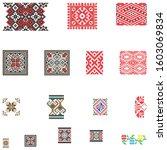 element traditional romanian...   Shutterstock . vector #1603069834