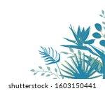horizontal of wedding card...   Shutterstock .eps vector #1603150441