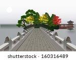 Illustration With Bridge To...