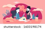 couple relationships vector...   Shutterstock .eps vector #1603198174