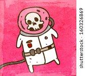 dead cosmonaut in a spacesuit....   Shutterstock .eps vector #160326869