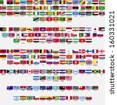 flags of the world  all... | Shutterstock .eps vector #160331021