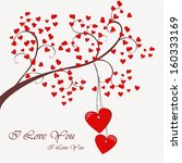 greeting card background with... | Shutterstock .eps vector #160333169
