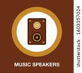 speaker icon. logo element...   Shutterstock .eps vector #1603357024
