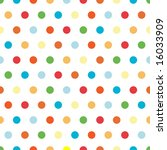 Polka Dots Pattern In Bright...