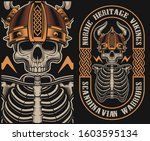 vector illustration with a... | Shutterstock .eps vector #1603595134