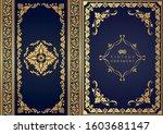 set of decorative design...   Shutterstock .eps vector #1603681147