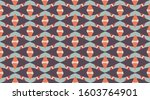 vintage pattern background. ... | Shutterstock .eps vector #1603764901