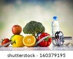weight loss  fitness | Shutterstock . vector #160379195