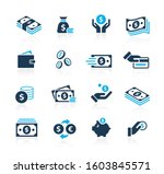 money icons    azure series | Shutterstock .eps vector #1603845571