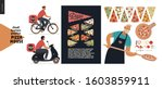 pizza house  small business... | Shutterstock .eps vector #1603859911