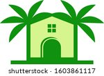 palm house abstract    Shutterstock .eps vector #1603861117