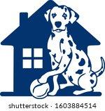dalmatian house holds the ball   Shutterstock .eps vector #1603884514