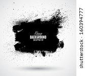 grunge splash banner | Shutterstock .eps vector #160394777