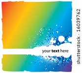 Abstract Rainbow Background...