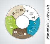 vector circle arrows for... | Shutterstock .eps vector #160410575